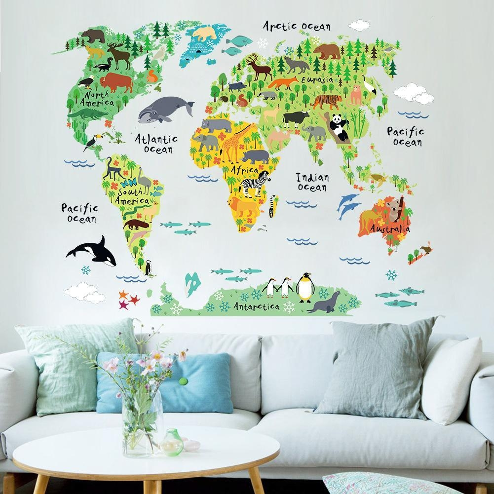 Best Childrens Bedroom Stickers For Walls To Buy | Buy New With Regard To Wall Art Stickers For Childrens Rooms (View 4 of 20)