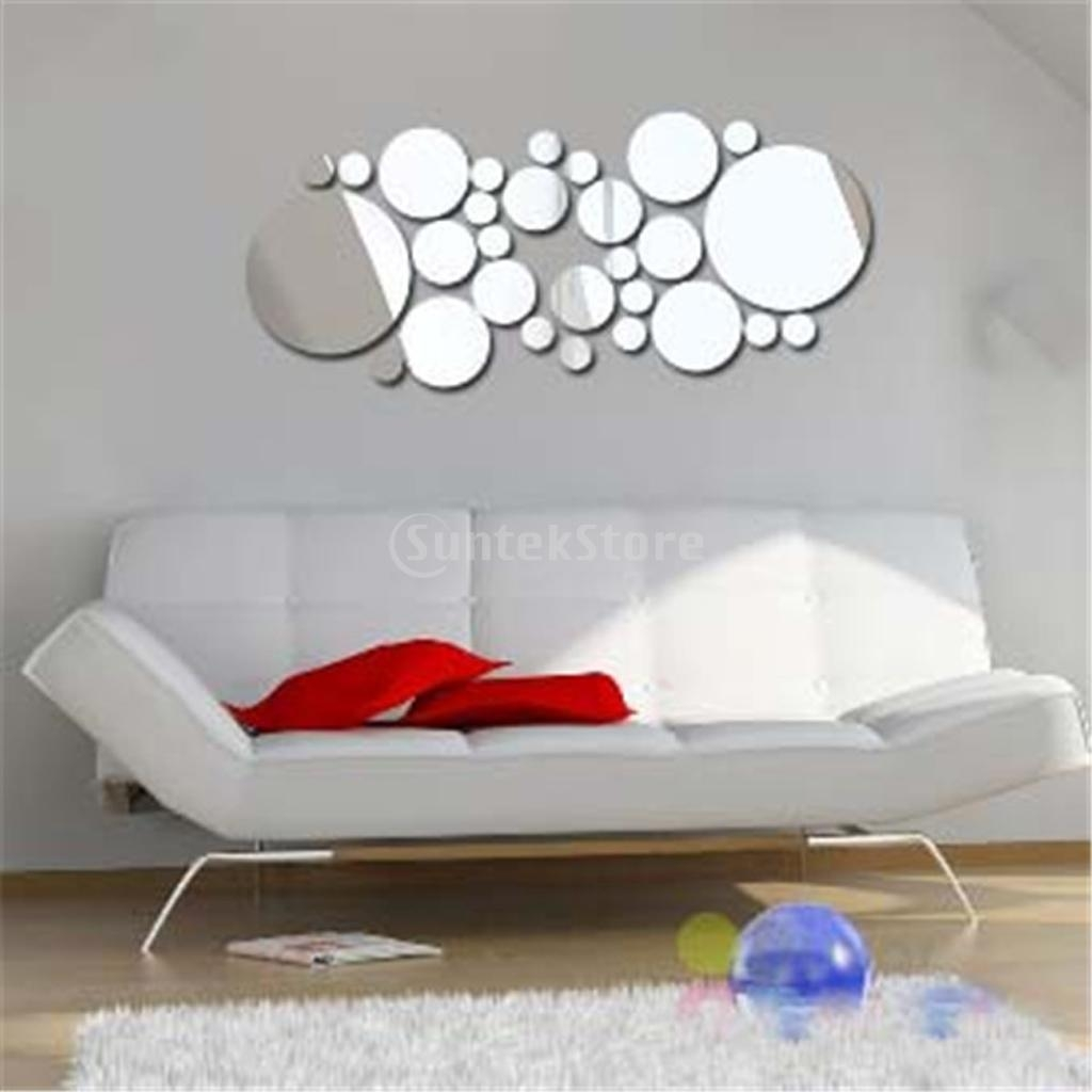 Best Mirror Circles Decor To Buy | Buy New Mirror Circles Decor With Mirror Circles Wall Art (View 2 of 20)