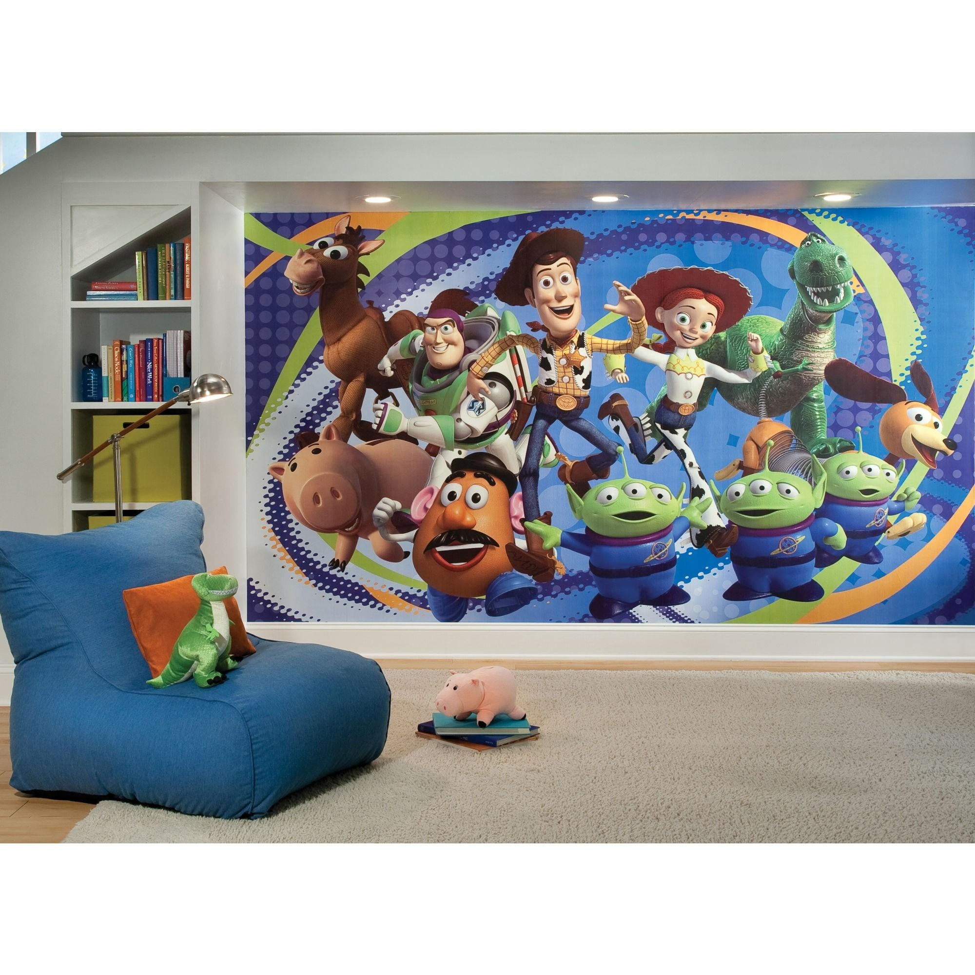 Best Wall Decals Toy Story Photos 2017 – Blue Maize With Regard To Toy Story Wall Stickers (Image 7 of 20)