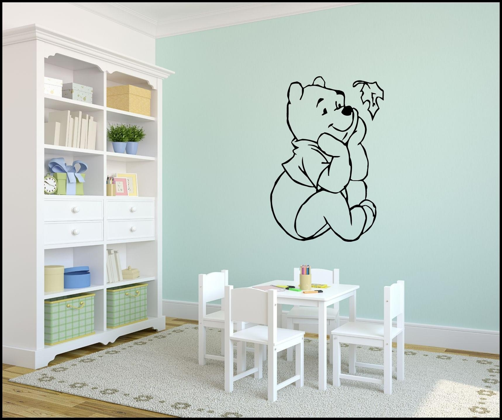 Best Winnie The Pooh Wall Decals Ideas : Winnie The Pooh Wall Regarding Winnie The Pooh Wall Decor (View 14 of 20)
