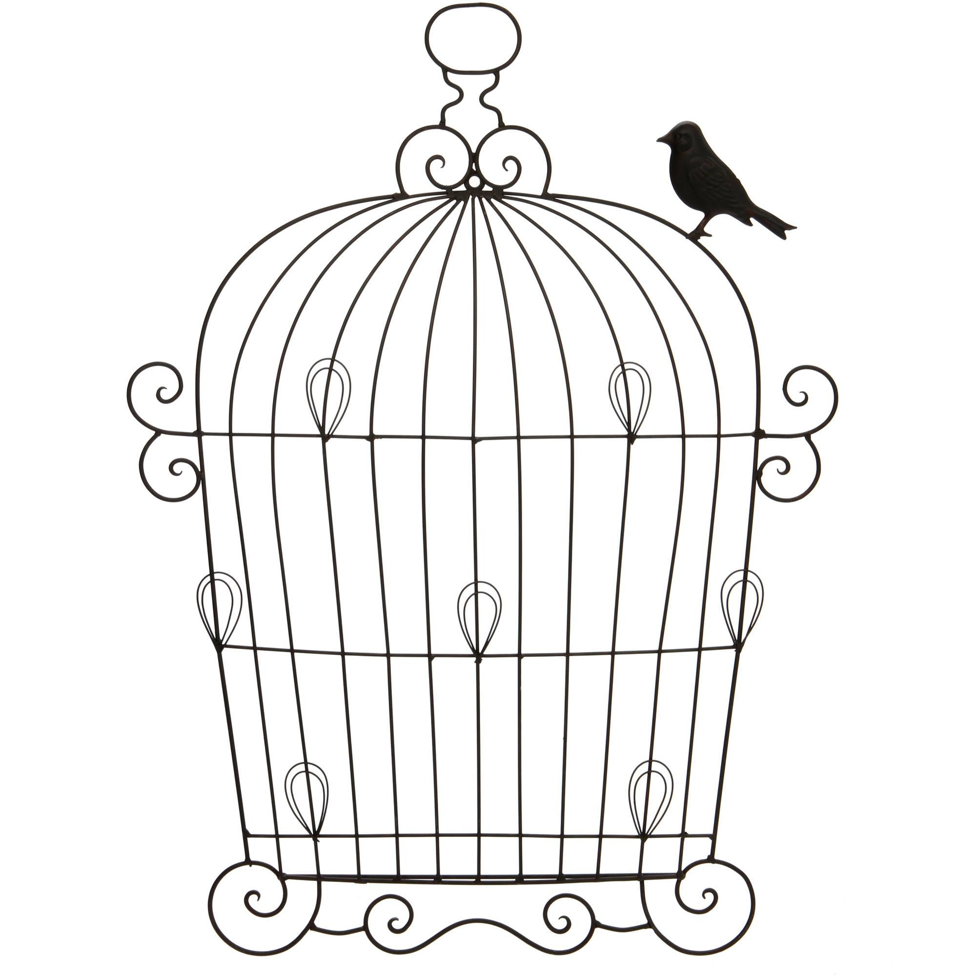 Better Homes And Gardens Metal Birdcage Wall Collage Frame Throughout Metal Birdcage Wall Art (Image 6 of 20)