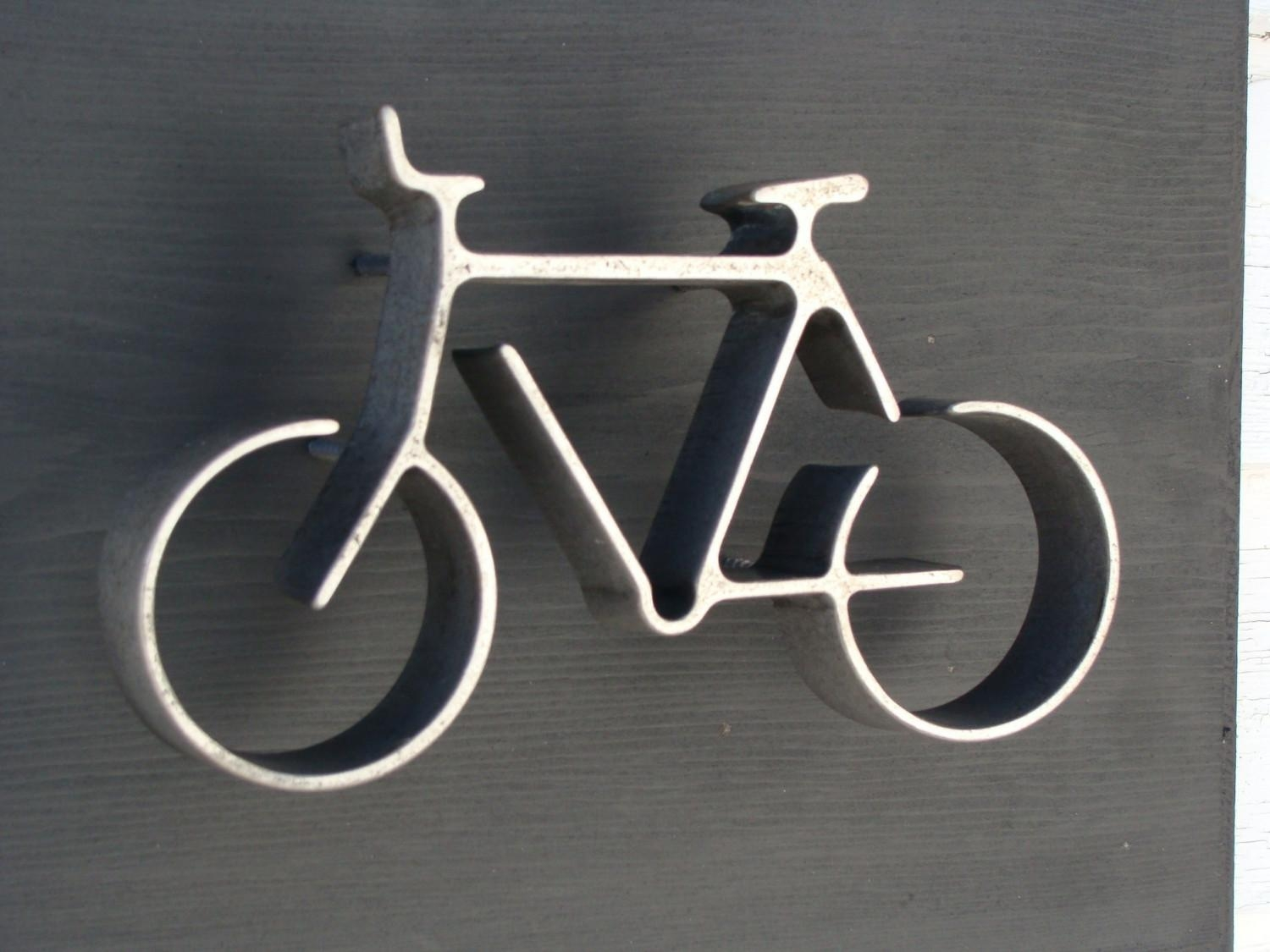 Bicycle Wall Art | Roselawnlutheran Intended For Metal Bicycle Art (Image 3 of 20)