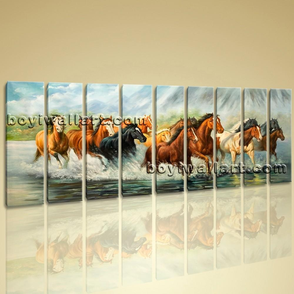 Big Canvas Prints Large Wall Art Comtemporary Abstract Painting Throughout Animal Canvas Wall Art (View 5 of 20)