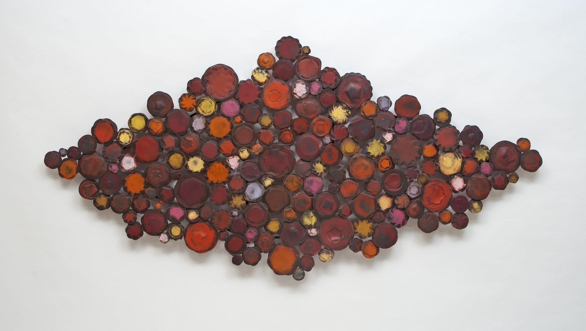 Big Redsusan Madacsi (Metal Wall Sculpture) | Artful Home Pertaining To Big Metal Wall Art (Image 1 of 20)