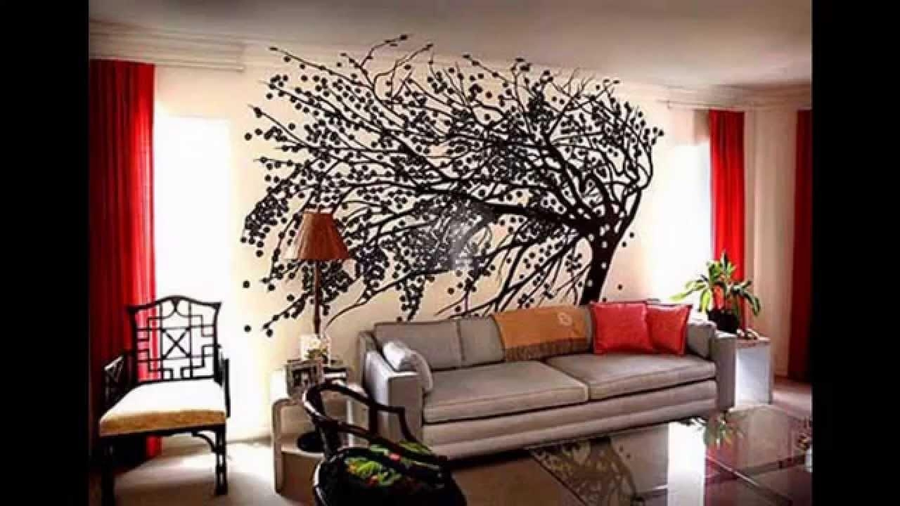 Big Wall Decorating Ideas – Youtube For Wall Art For Large Walls (Image 9 of 20)
