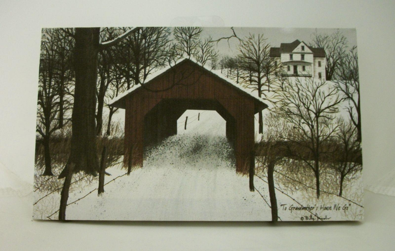 "Billy Jacobs Stretched Canvas Print 10"" X 6"" Primitive Country With Regard To Billy Jacobs Framed Wall Art Prints (View 20 of 20)"
