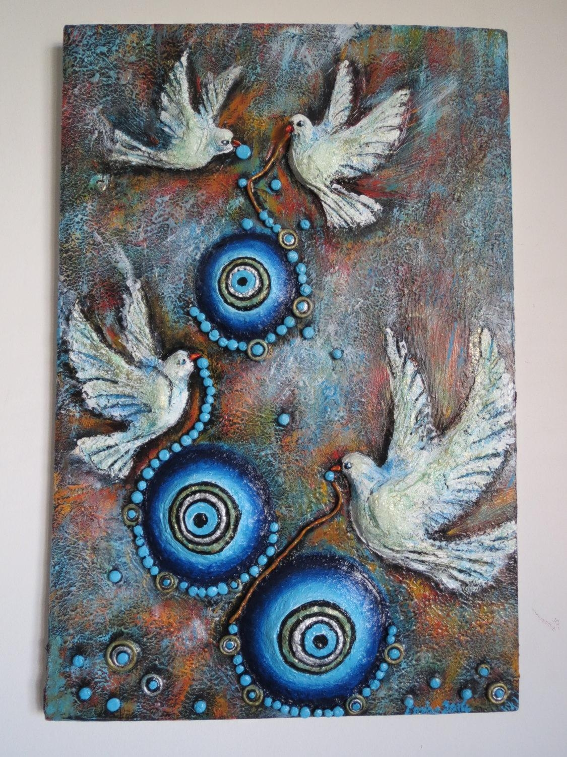 20 Collection Of Ceramic Bird Wall Art Wall Art Ideas