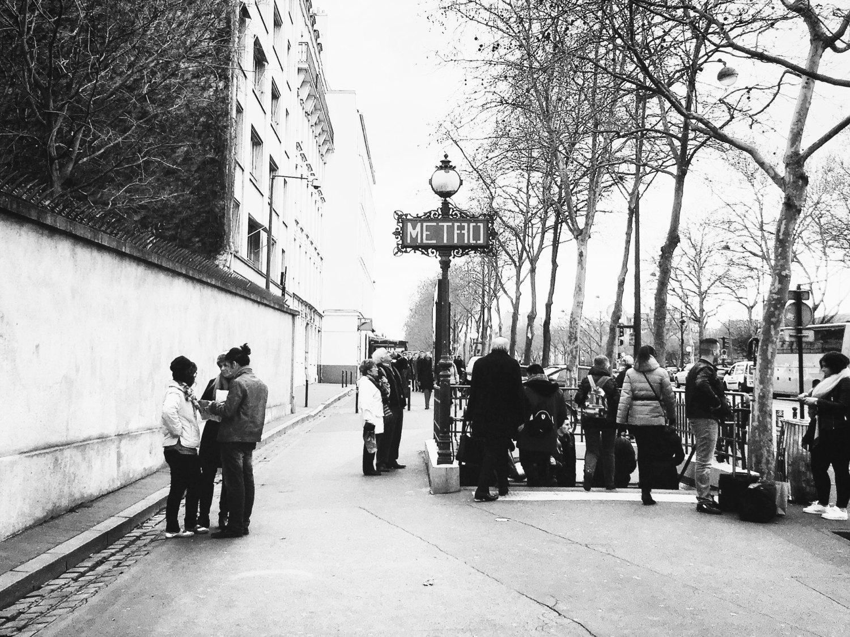 Black And White Paris – Bonne Routebonnie With Regard To Black And White Paris Wall Art (View 3 of 20)