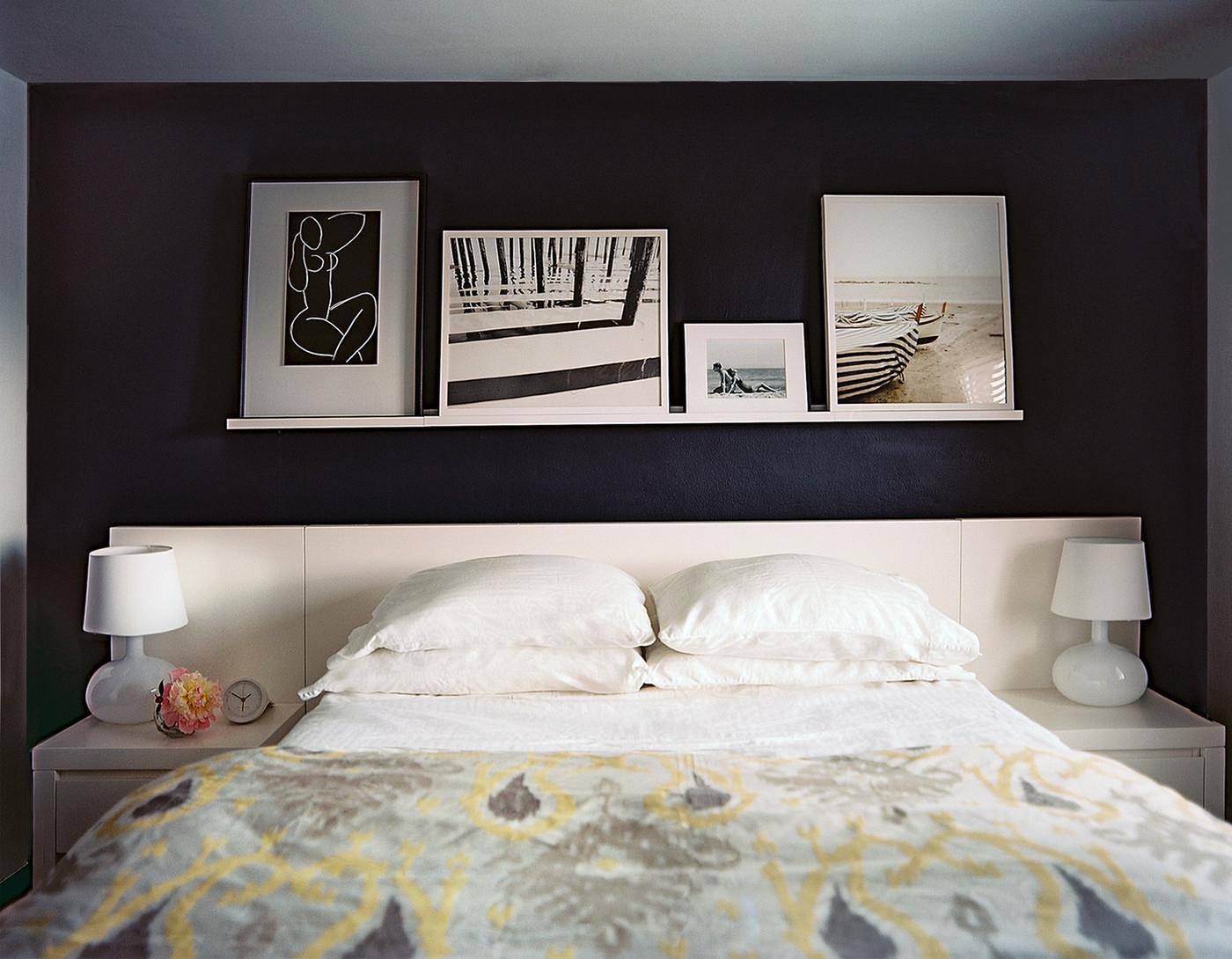 Black Bedroom Photos (118 Of 128) Regarding Bedroom Framed Wall Art (Image 13 of 20)
