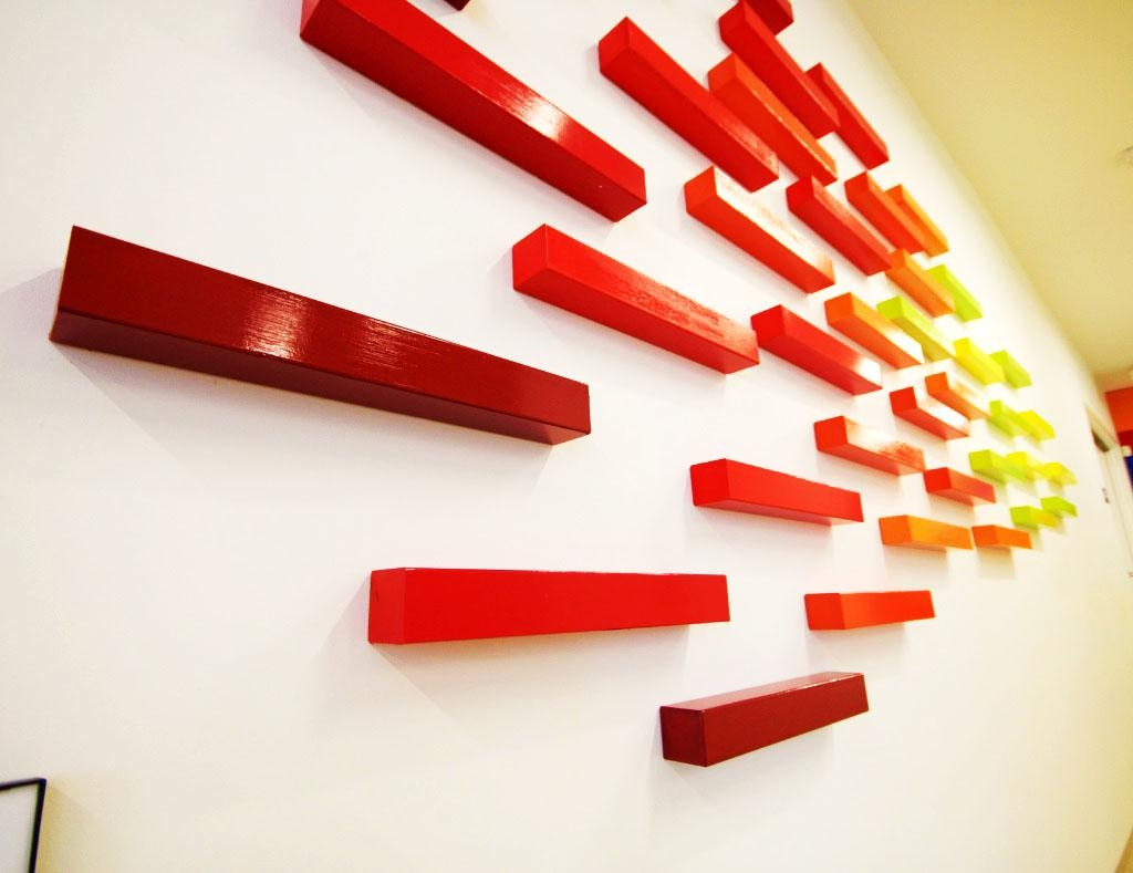 Blazing A New Horizon | 3D Wall Art | Rosemary Pierce Modern Art With Corporate Wall Art (View 8 of 20)