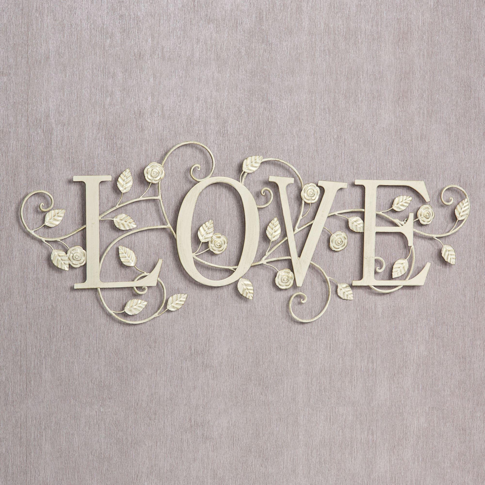 Featured Image of Metal Word Wall Art