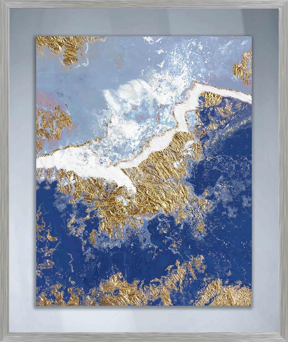 Blue Wall Art   Roselawnlutheran Regarding Navy Blue Wall Art (Image 9 of 20)