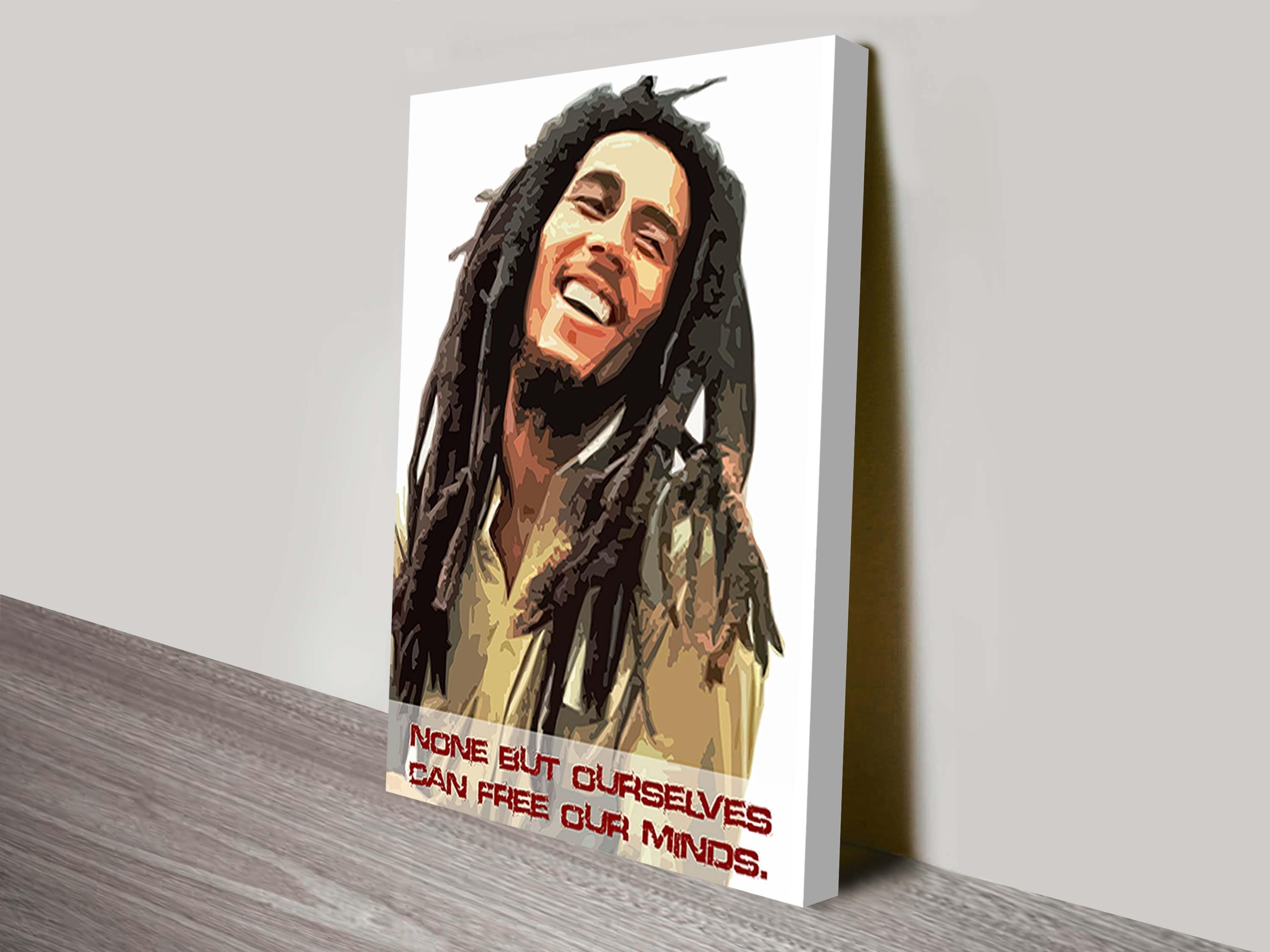 Bob Marley Art Canvas Art Prints With Regard To Bob Marley Canvas Wall Art (Image 2 of 20)