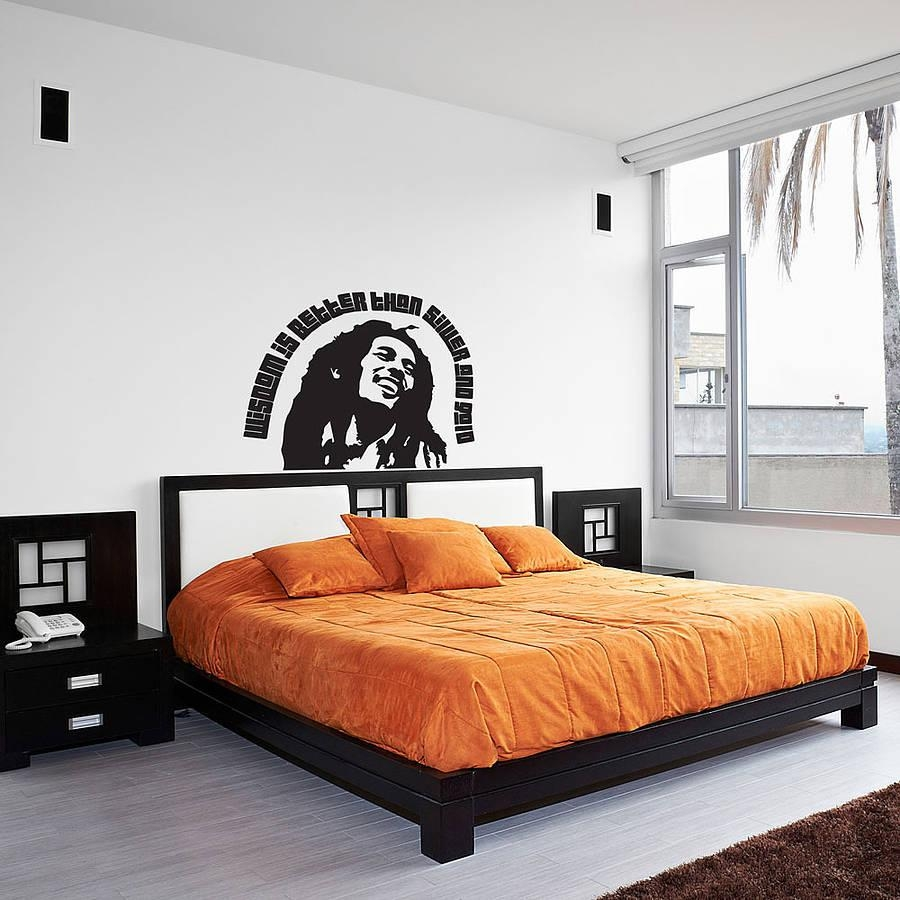 Bob Marley Quote – Wisdom Wall Art Decalvinyl Revolution With Regard To Bob Marley Wall Art (View 20 of 20)