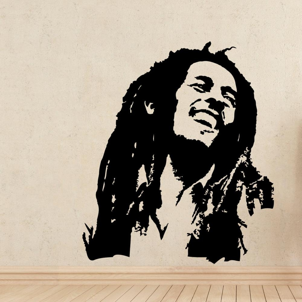Bob Marley Rasta Stickers Reviews – Online Shopping Bob Marley With Bob Marley Wall Art (Image 6 of 20)