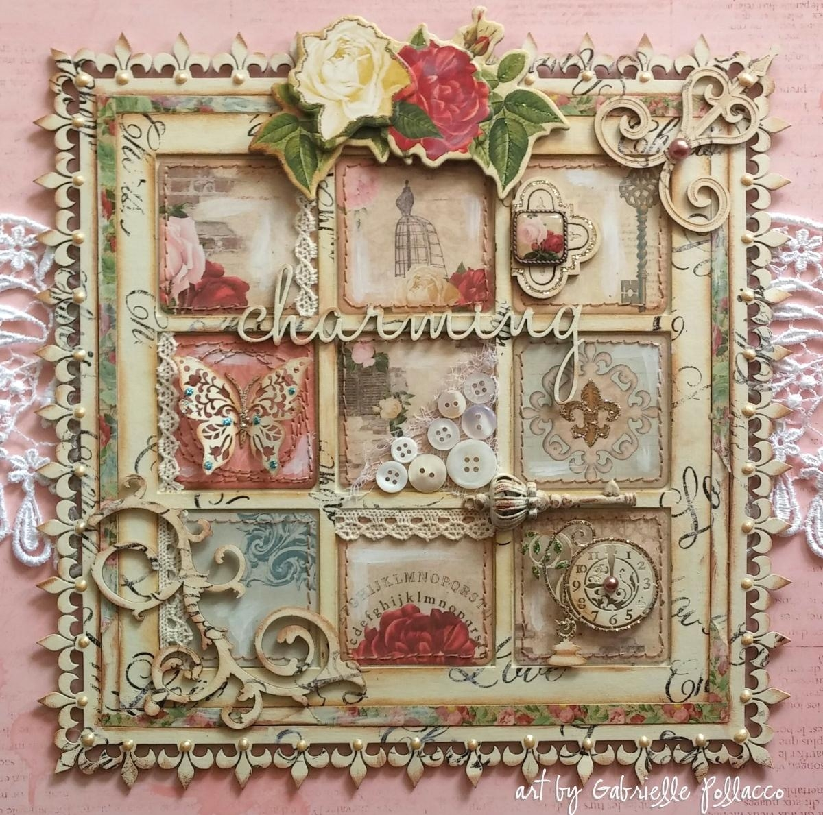 Bobunny: Shabby Chic Juliet Wall Art Pertaining To Shabby Chic Wall Art (View 3 of 20)
