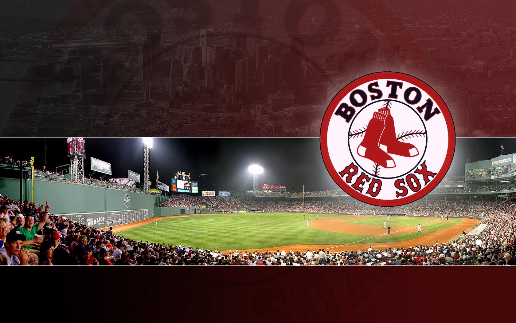 Boston Red Sox Wallpapercrazydi4Mond On Deviantart In Red Sox Wall Art (Image 11 of 20)