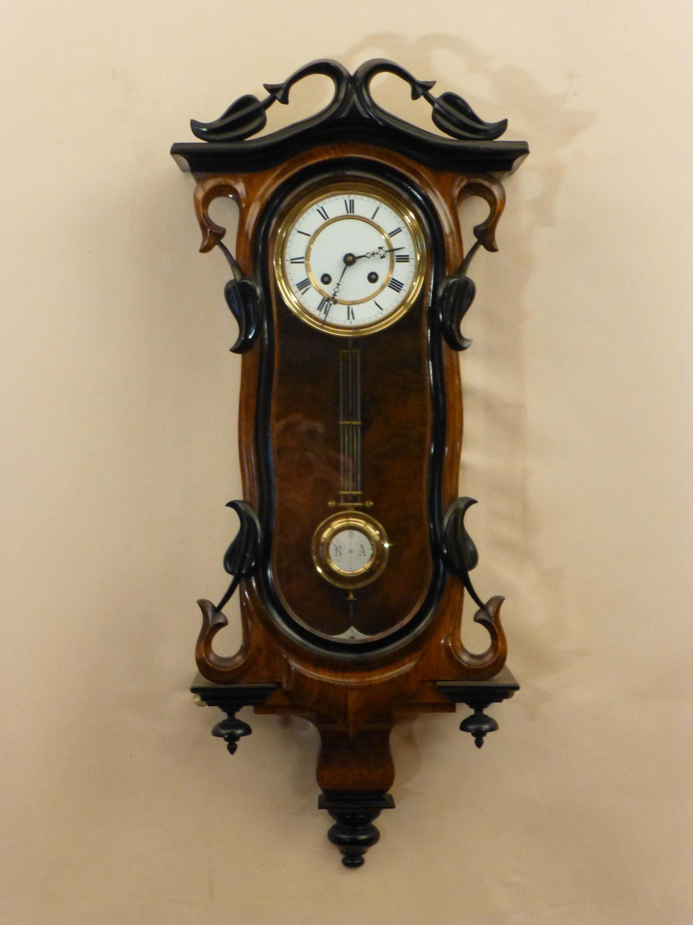 Bright Art Nouveau Wall Clock 68 Art Deco Style Wall Clocks Uk Throughout Art Deco Wall Clocks (Image 11 of 20)