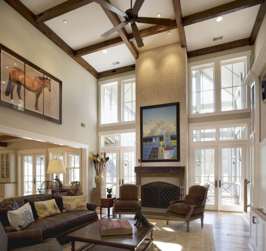 Brilliant Beam Ceiling Featuring Horse 3 Pieces Printing Portrait Within Fireplace Wall Art (View 14 of 20)