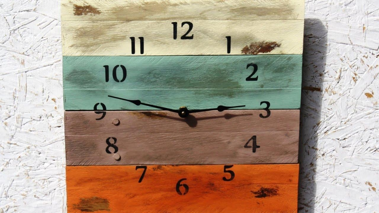 Brilliant Recycled Pallet Wall Art Ideas To Enhance Your Home Within Recycled Wall Art (View 17 of 20)