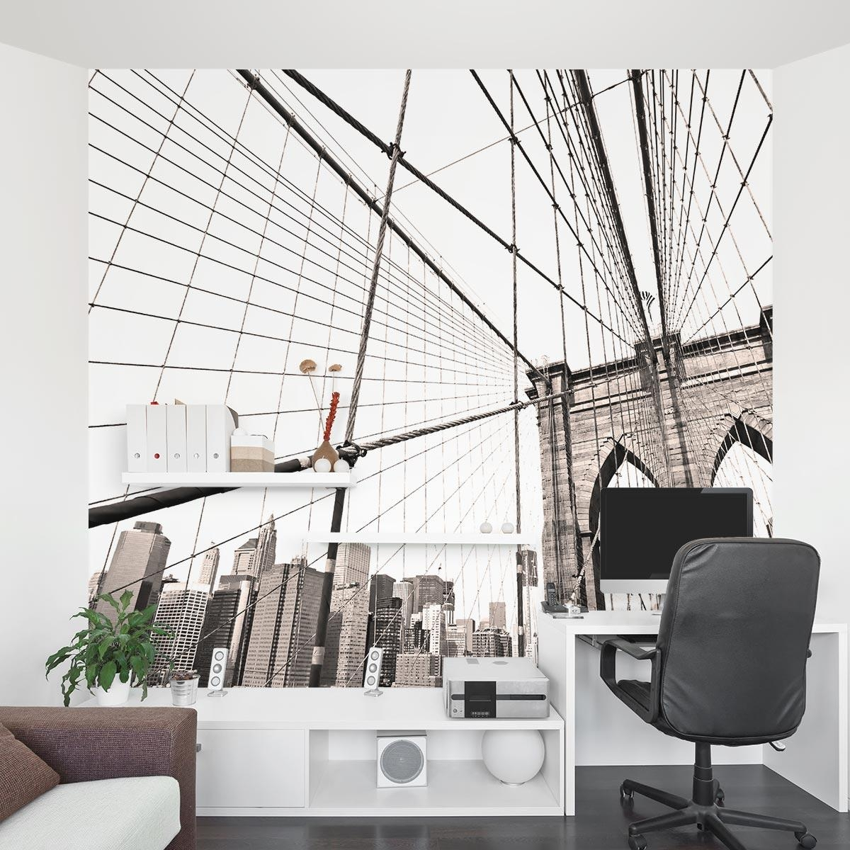 20 Inspirations Brooklyn Bridge Wall Decals Wall Art Ideas