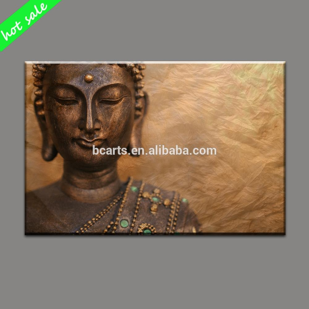 Buddha Painting, Buddha Painting Suppliers And Manufacturers At With 3D Buddha Wall Art (View 7 of 20)