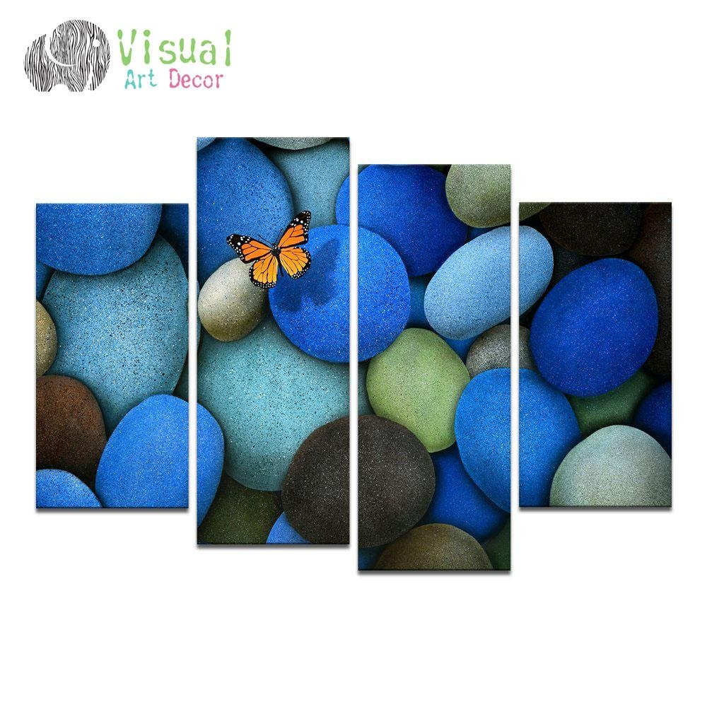 Butterfly Canvas Wall Art Promotion Shop For Promotional Butterfly Pertaining To Butterfly Canvas Wall Art (Image 4 of 20)