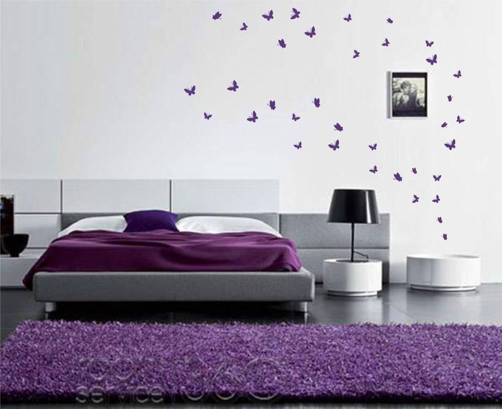 Butterfly Wall Stickers | Ebay In Butterflies Wall Art Stickers (View 18 of 20)