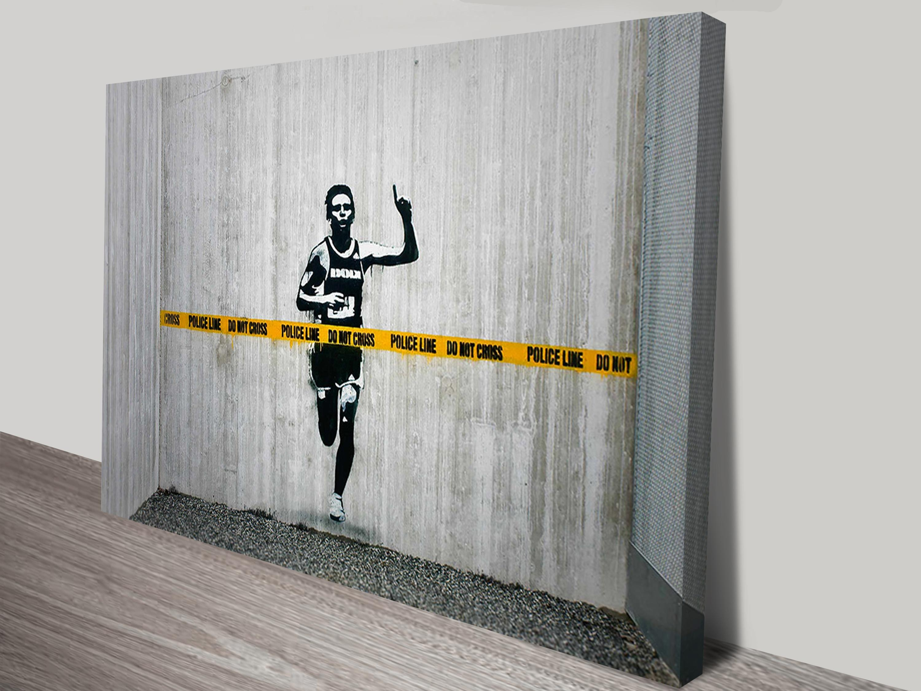 Buy Banksy Art Prints And Street Art Graffiti Canvas Pictures Online Regarding Banksy Canvas Wall Art (Image 17 of 20)