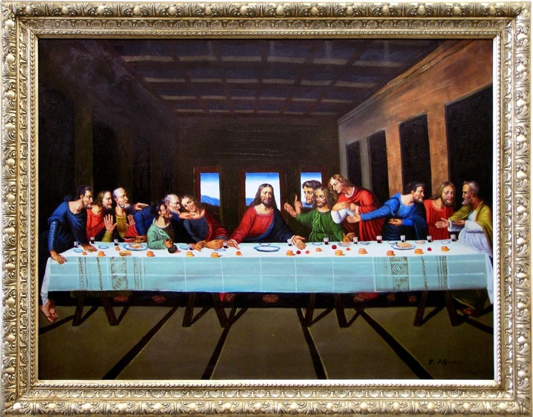 Buy Furniture Of America Ap 3648 A7 Last Supper Wall Art Within Last Supper Wall Art (View 6 of 20)