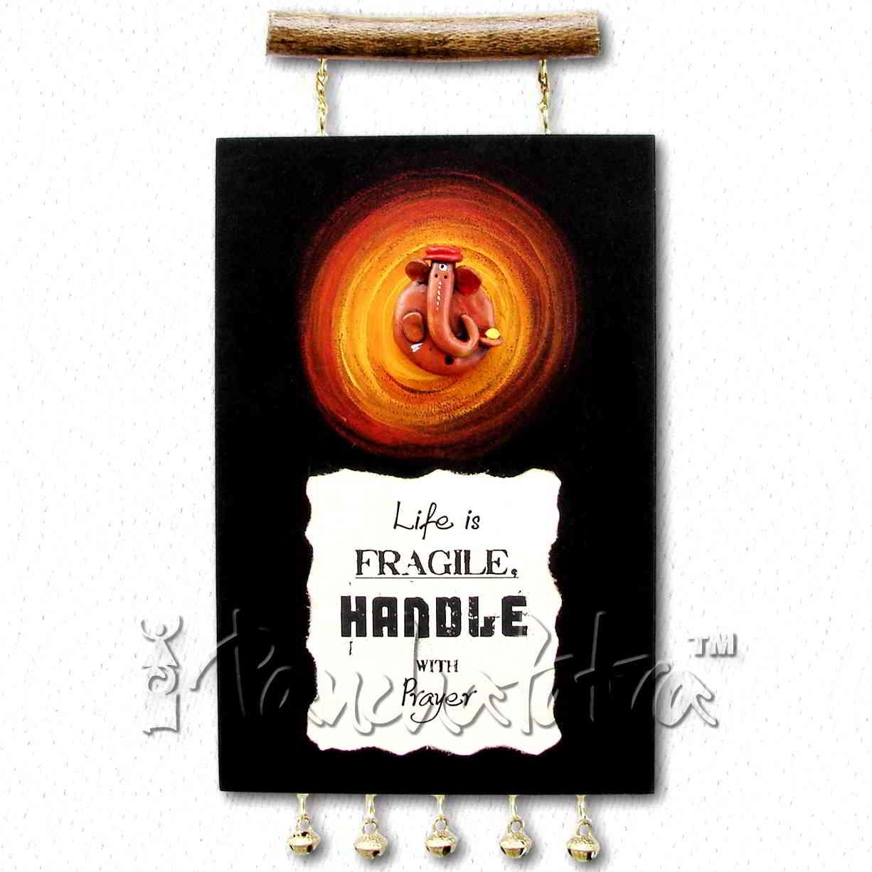 Buy Ganesh Living Room Wall Art Gift For Housewarming Online In Throughout Ganesh Wall Art (View 18 of 20)
