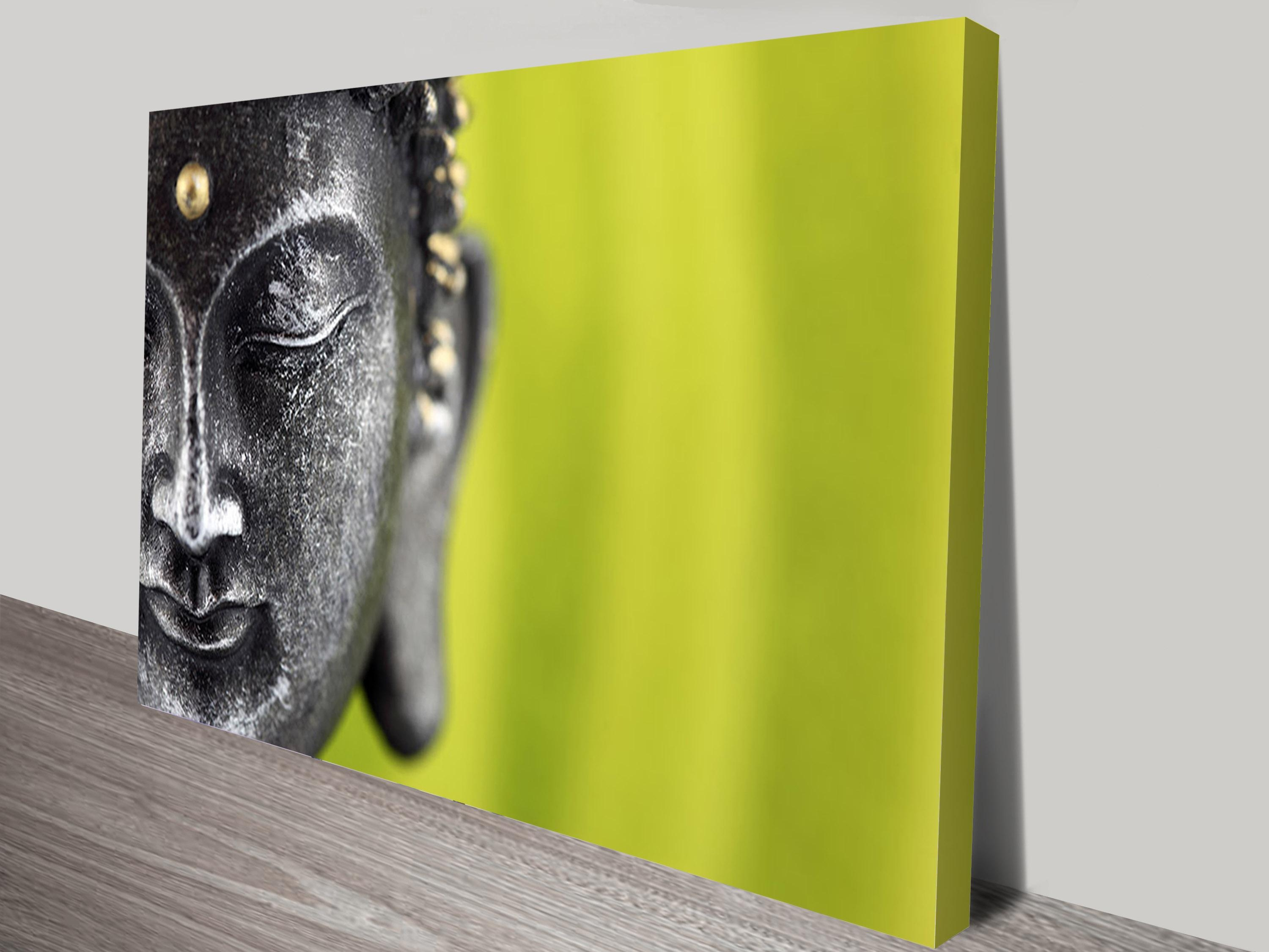 Buy Spirituality & Buddha Wrapped Canvas Prints & Wall Art Online With Silver Buddha Wall Art (Image 7 of 20)