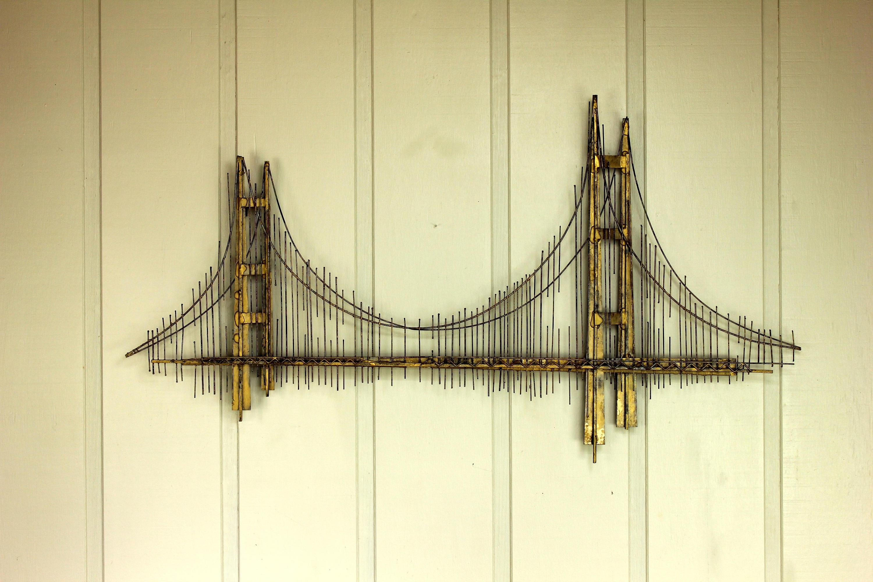 Wall Art Ideas: Metal Gate Wall Art (Explore #11 of 20 Photos)