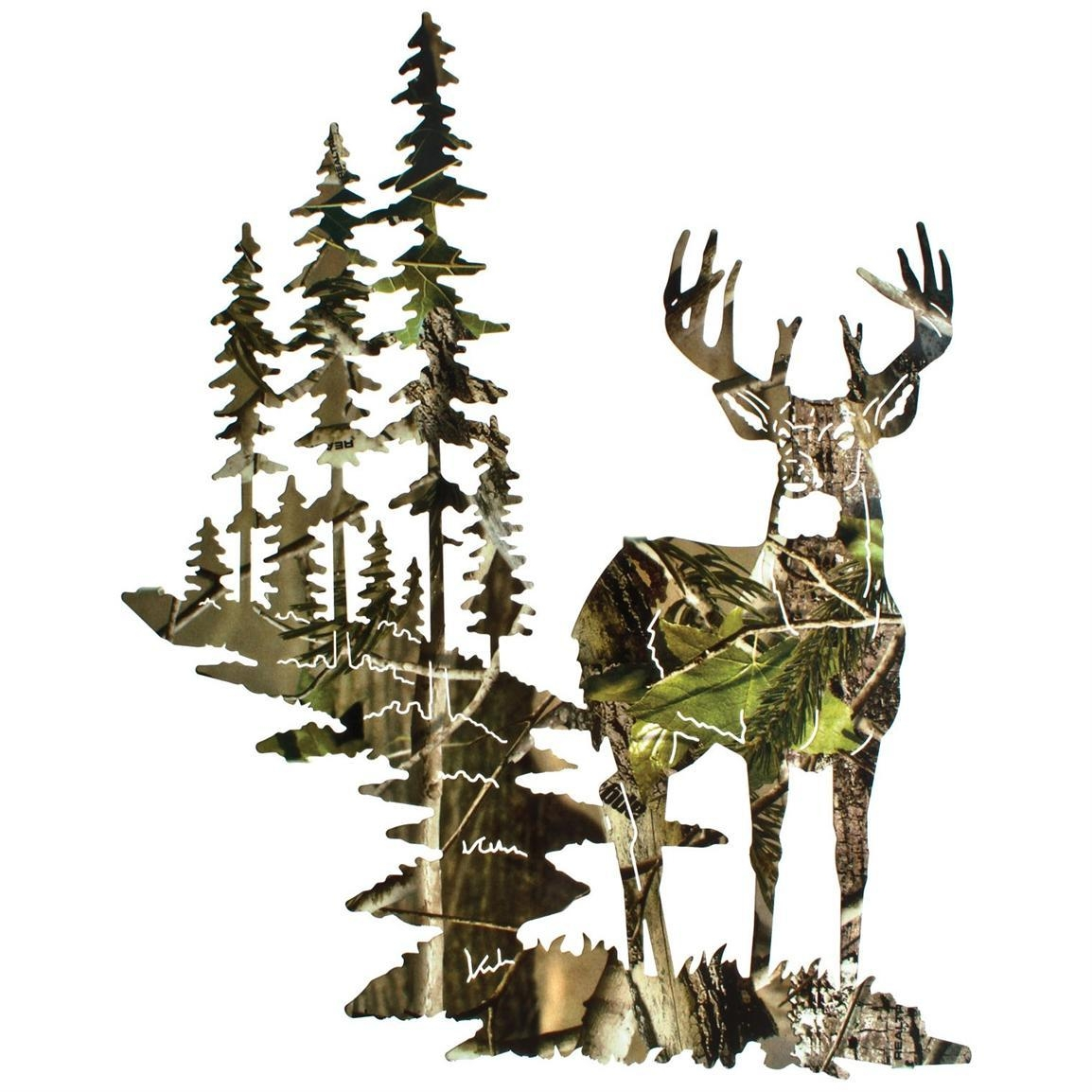 Camo Wall Decals – Wall Murals You'll Love In Camouflage Wall Art (View 10 of 20)