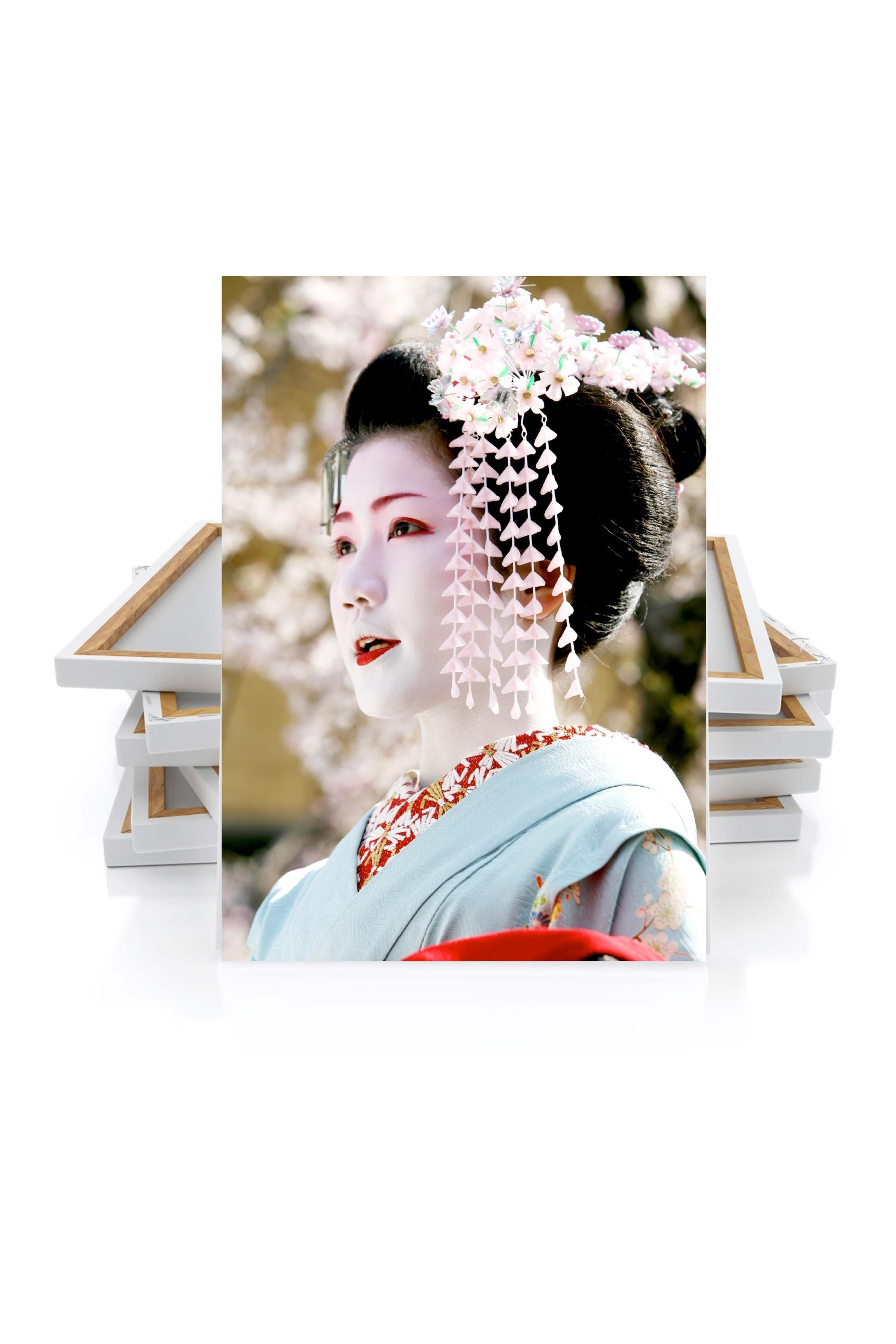 Canvas Geisha – Japanemmanuel Catteau – Canvas – Wall Art With Regard To Geisha Canvas Wall Art (View 12 of 20)