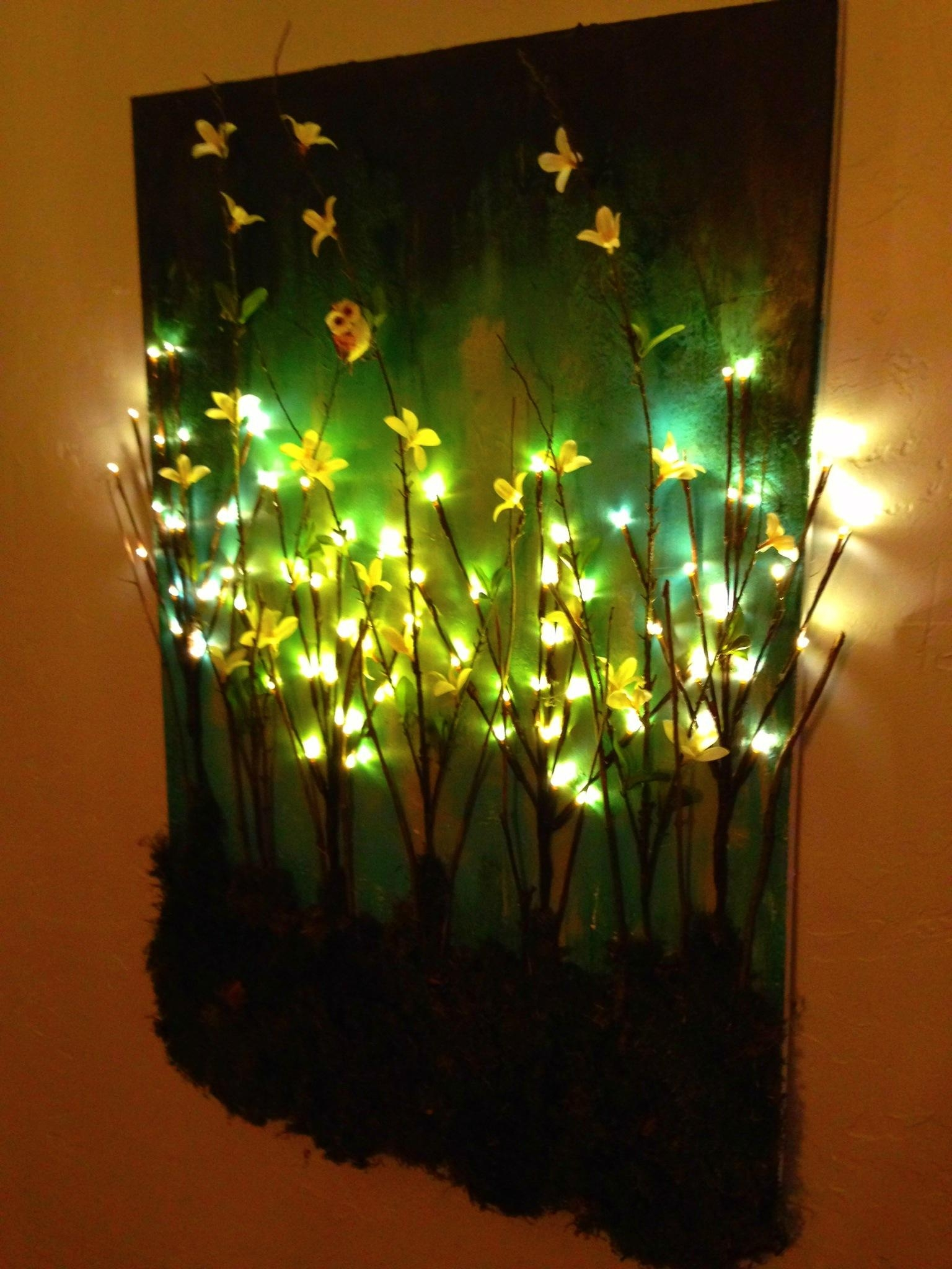 Canvas Light Up Wall Art – 10 Ideal Wall Decorations | Warisan Throughout Wall Art With Lights (Image 6 of 20)