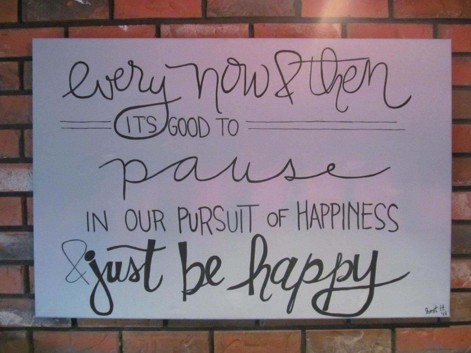 Canvas Quotes Art Inspirational Quote Inspirational Wall Pertaining To Large Inspirational Wall Art (View 7 of 20)