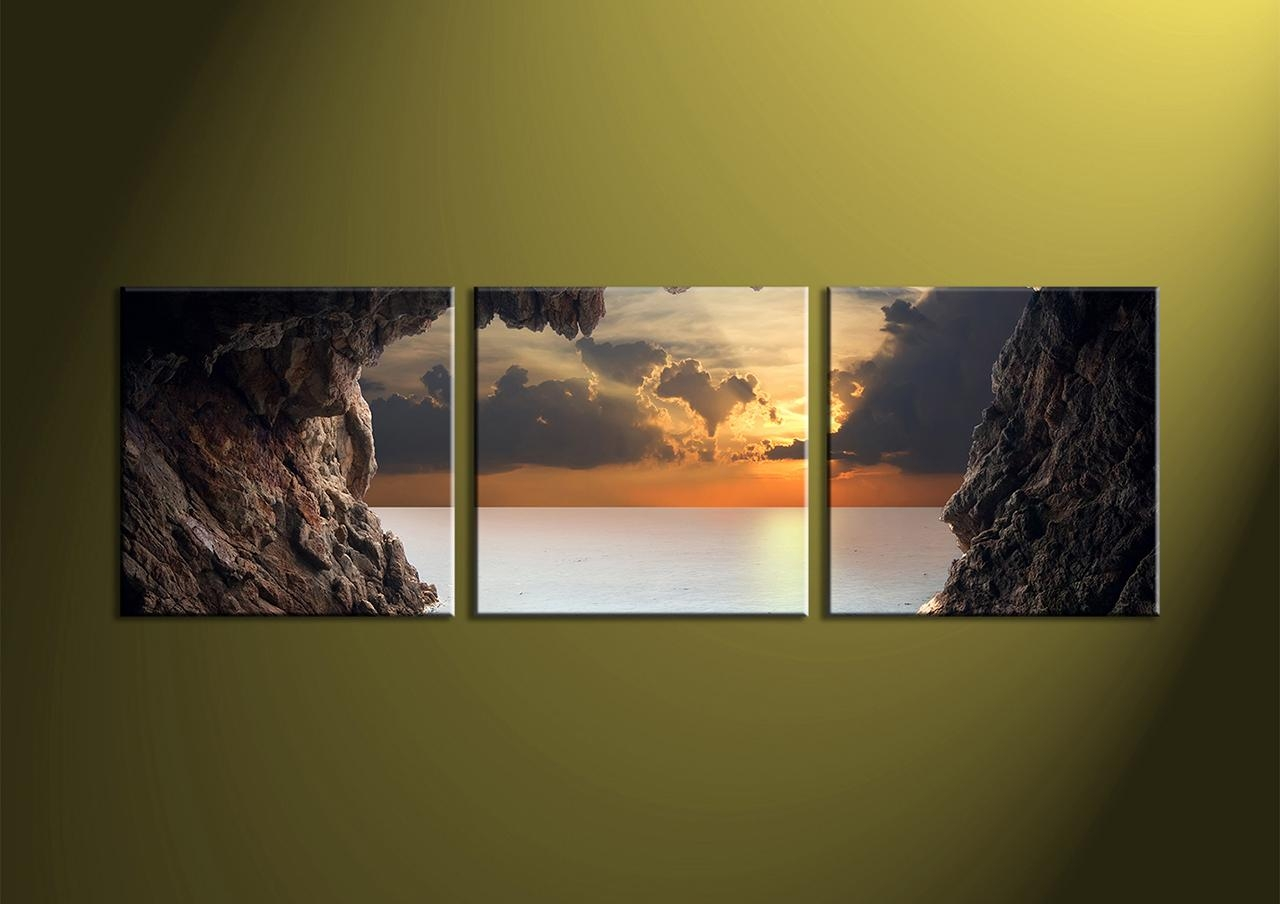 Canvas Wall Art Sets Image Gallery 3 Piece Wall Art – Home Decor Ideas Intended For 3 Piece Wall Art Sets (View 4 of 20)
