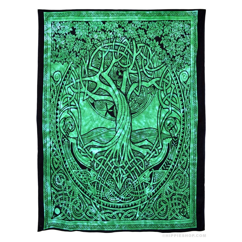 Celtic Tree Of Life Tapestry On Sale For $ (View 17 of 20)