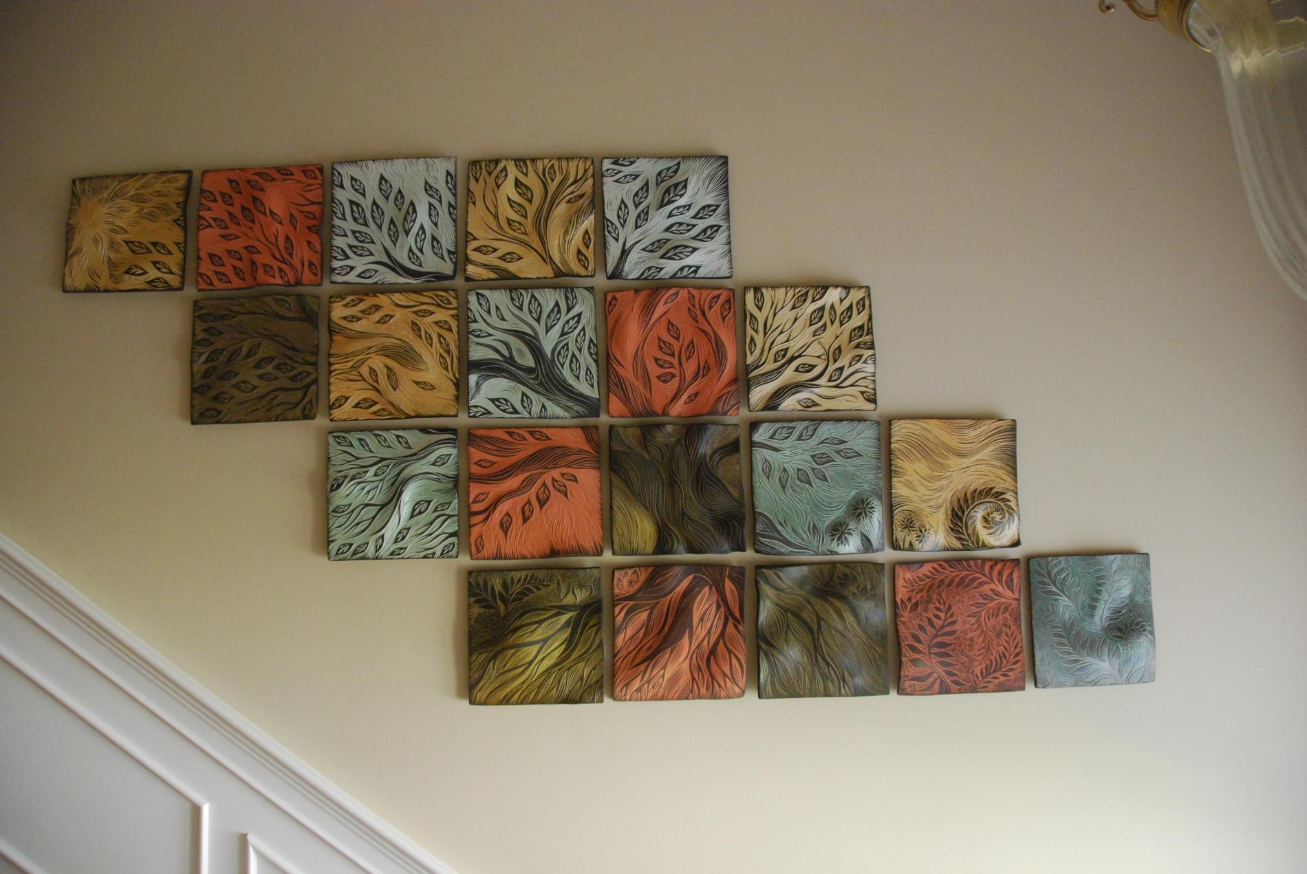 Featured Image of Ceramic Tile Wall Art
