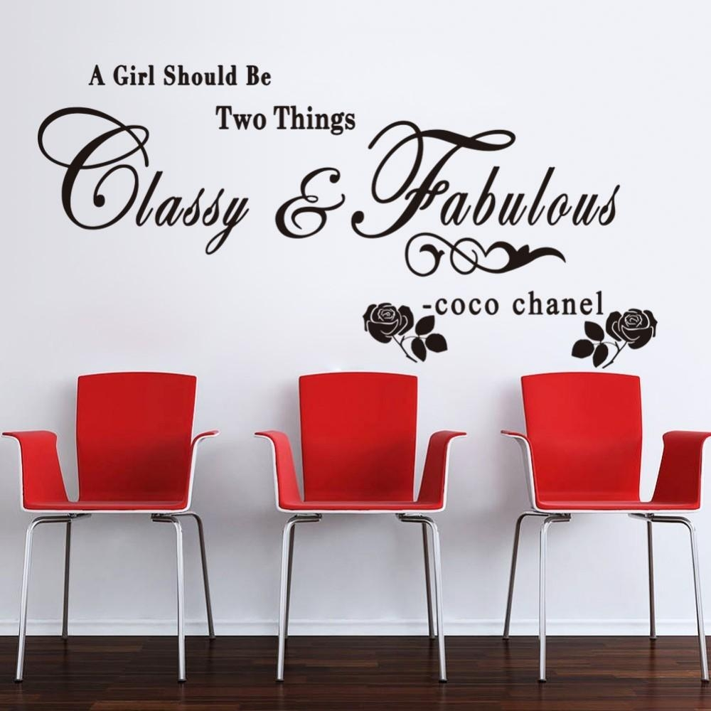 Chanel Fashion Picture – More Detailed Picture About Coco Chanel Intended For Coco Chanel Wall Stickers (Image 4 of 20)