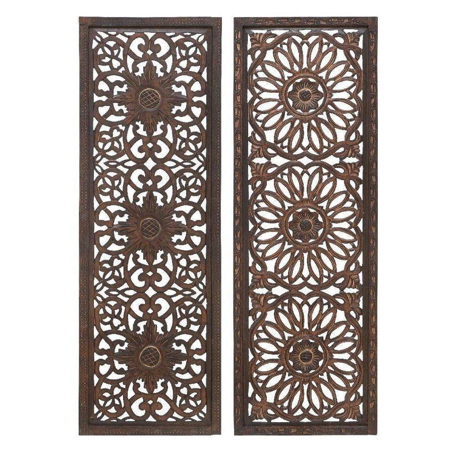Chic Wood Panel Wall Art Decor Best Cover Wood Paneling Wood Metal Within Wood Carved Wall Art Panels (Image 5 of 20)