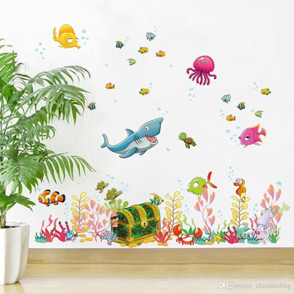 Children's Rooms Wall Decor – Room Design Ideas Inside Wall Art Stickers For Childrens Rooms (View 16 of 20)