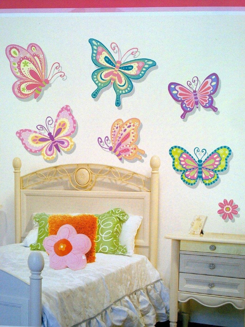 Childrens Wall Art, Children's Jungle Wall Stickersparkins Pertaining To Childrens Wall Art Canvas (Image 8 of 20)