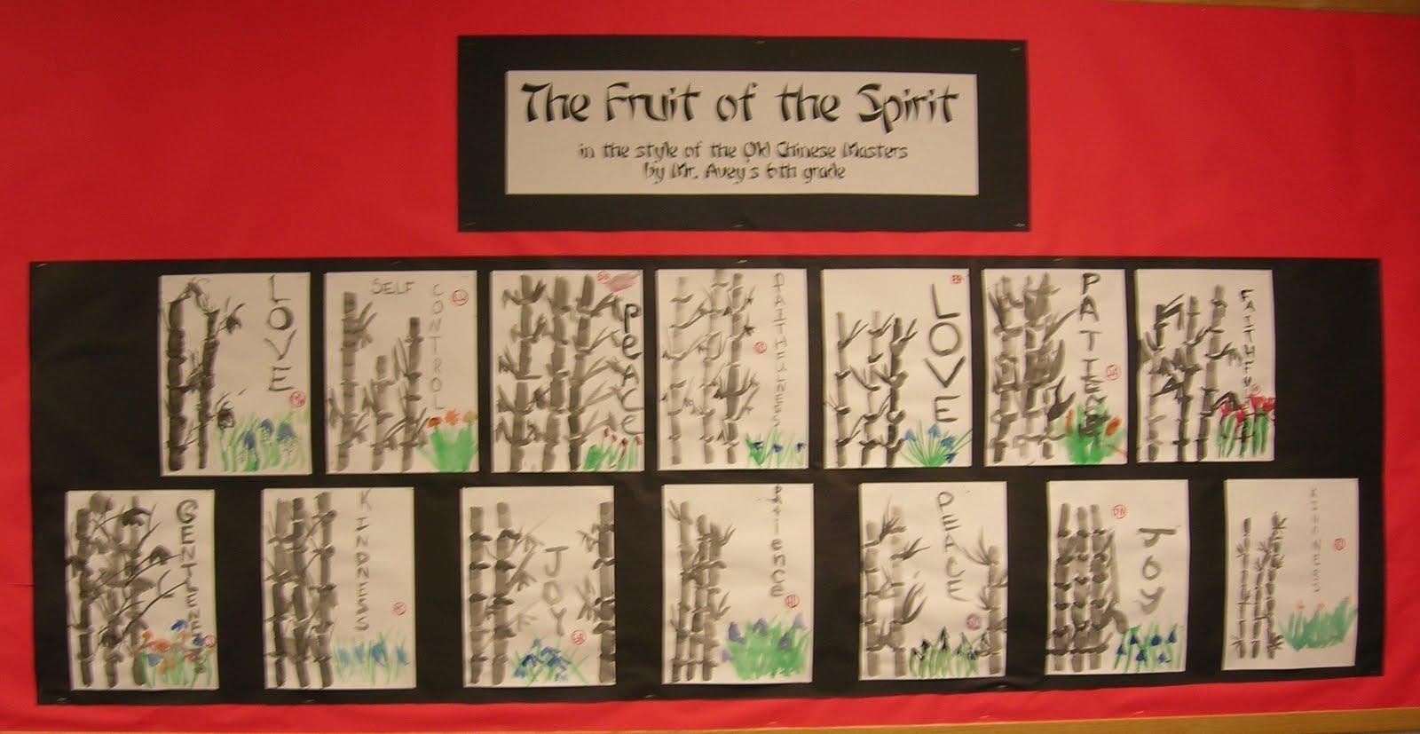 Chinese Brush Painting   Teachkidsart Pertaining To Fruit Of The Spirit Artwork (View 6 of 20)