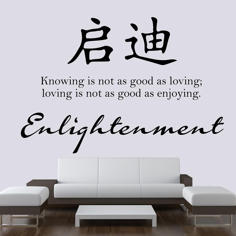 Chinese Proverb Wall Stickers | Iconwallstickers.co (View 17 of 20)