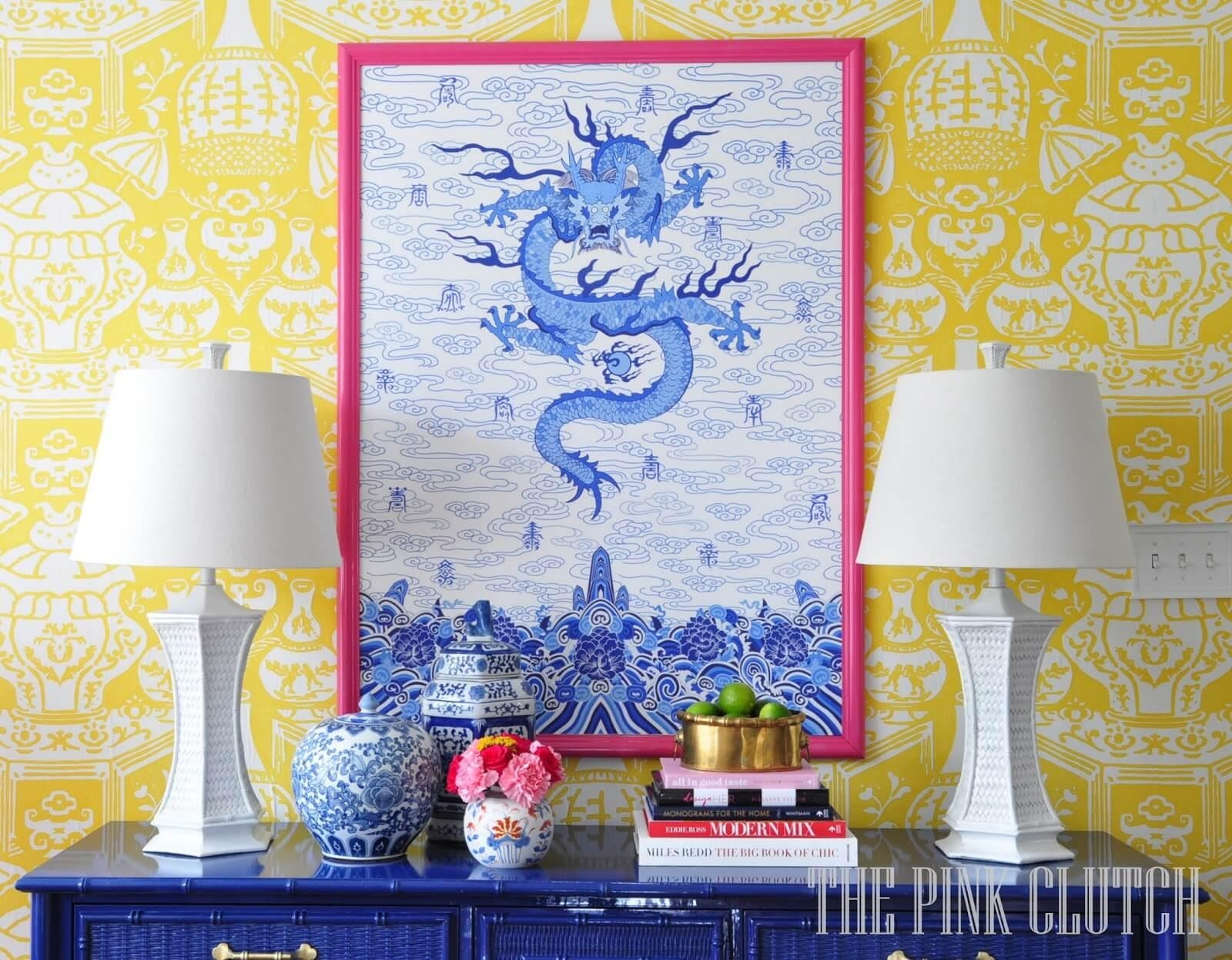 Chinoiserie Decorating Tips | Decoratorsbest Blog Intended For Chinoiserie Wall Art (Image 11 of 20)