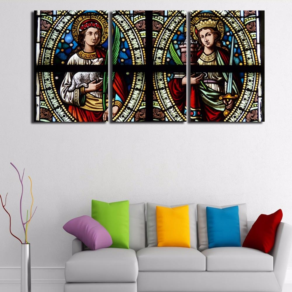Christian Paintings Art Promotion Shop For Promotional Christian With Regard To Large Christian Wall Art (Image 6 of 20)