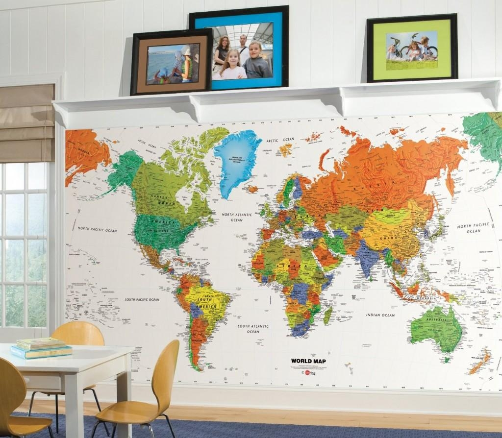 Classroom Decor | Colorful Kids Rooms Intended For Preschool Classroom Wall Decals (Image 8 of 20)