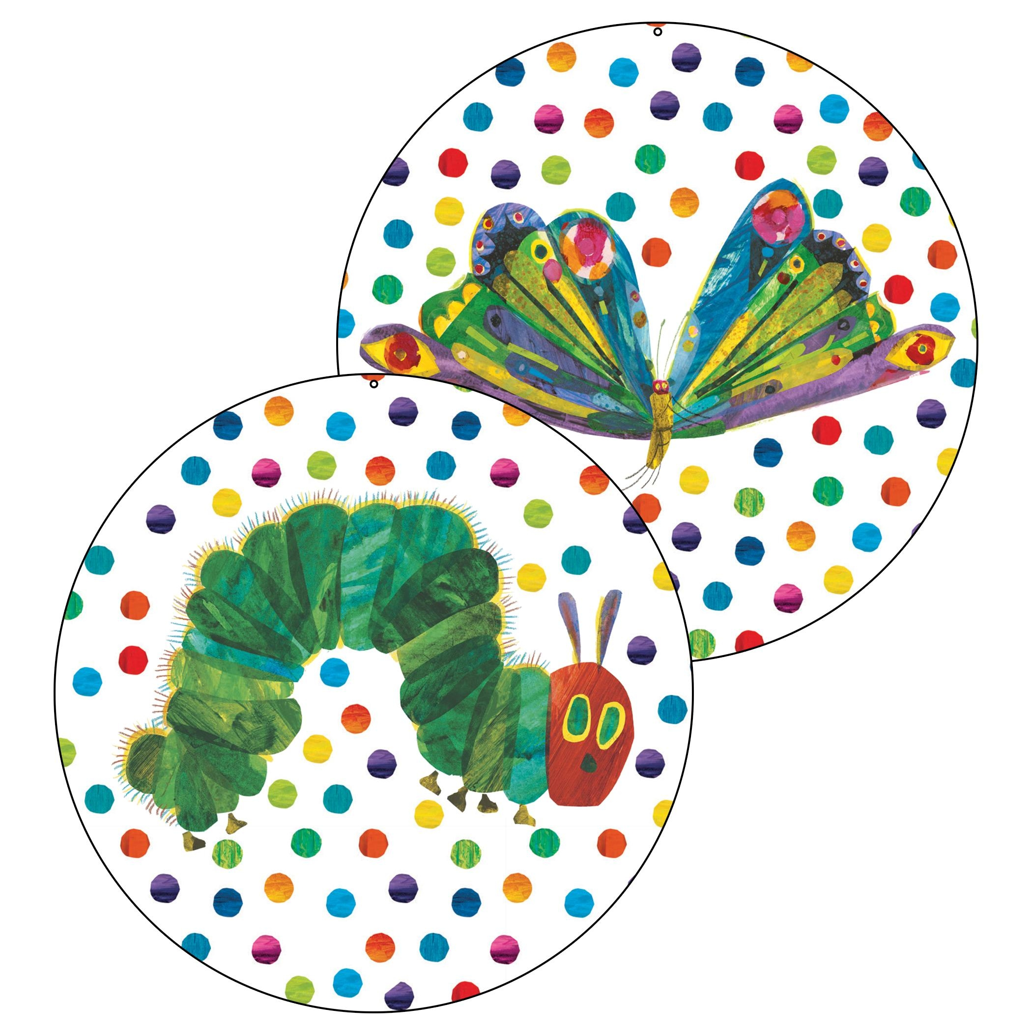 Classroom Decorations | The Eric Carle Museum Of Picture Book Art In Very Hungry Caterpillar Wall Art (Image 4 of 20)